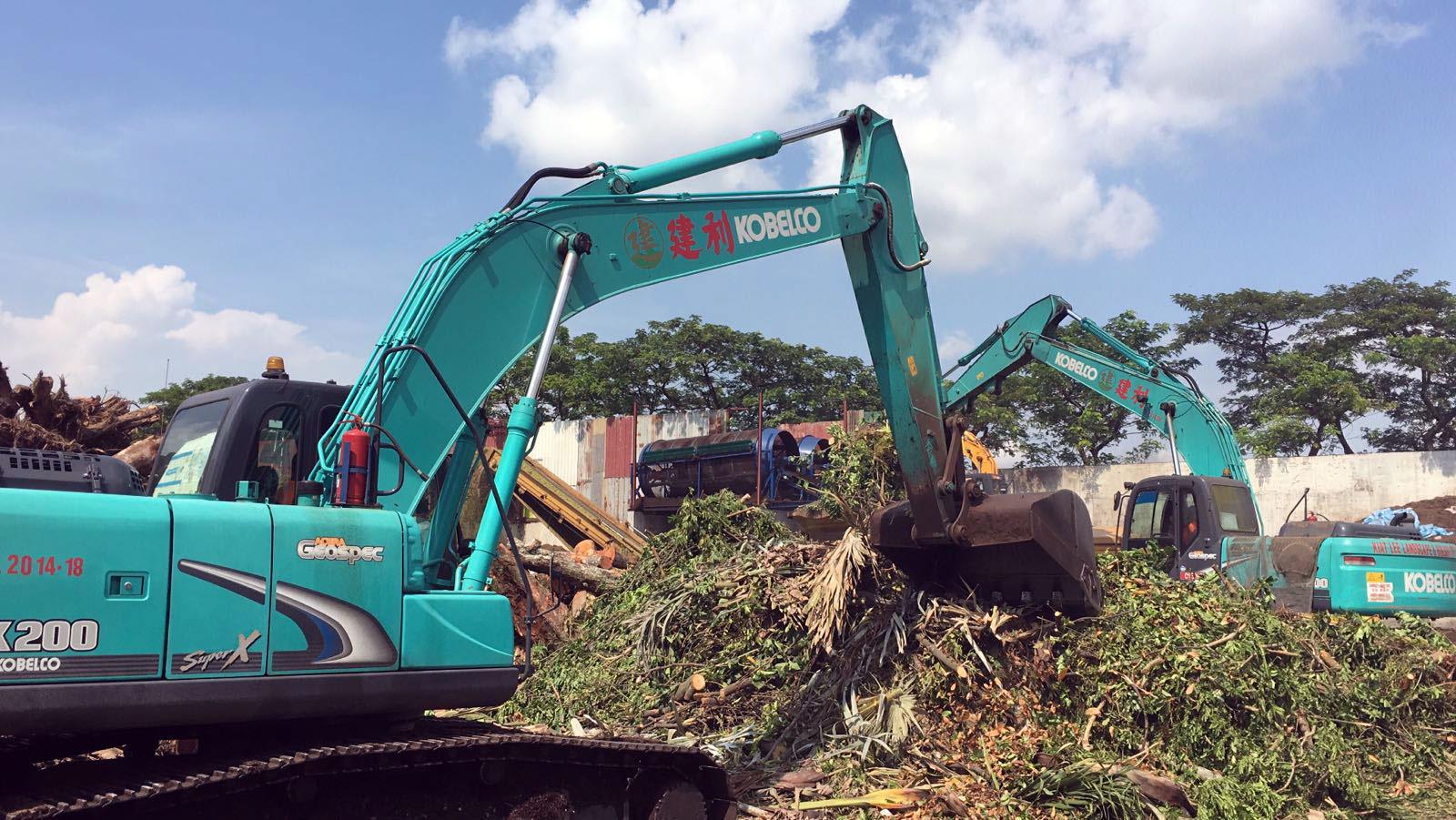 Kiat Lee Landscape - Services - Green Waste